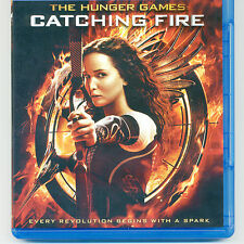 Hunger Games: Catching Fire 2013 PG-13 movie, Blu-ray & case, Jennifer Lawrence