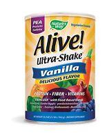 Nature's Way Alive Pea Shake Vanilla 2.2 Pound Free Shipping