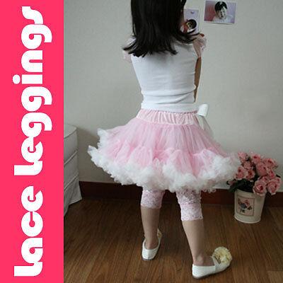Lace Leggings for Pettiskirt TuTu Pageant Shoes X-MAS