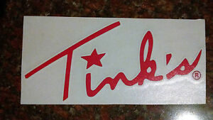 Tink-039-s-sticker-window-decal-large-Red-or-Pink-Buck-deer-lure-scents-etc