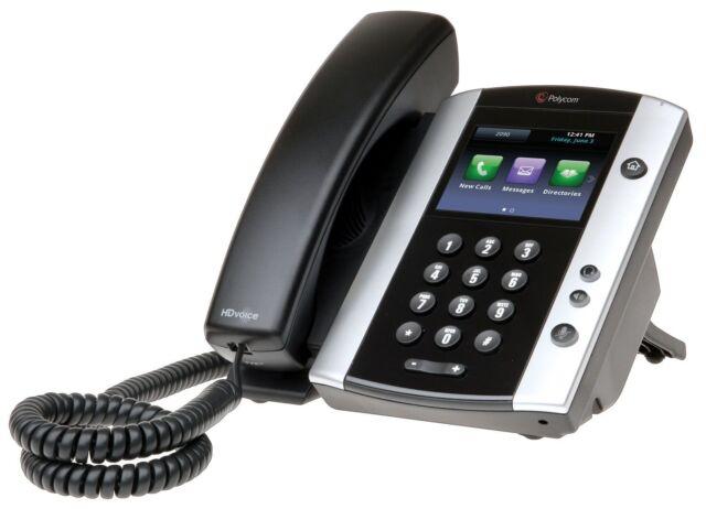 Polycom VVX 500 IP Gigabit Phone 2201-44500-001 VVX500