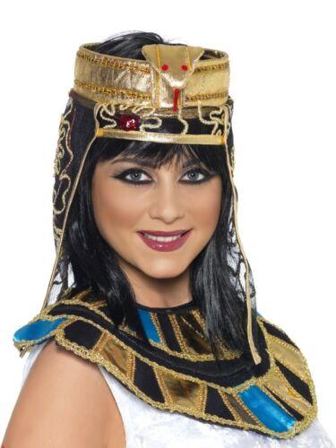 COPRICAPO REGINA EGIZIANA Cappello Cleopatra Carnevale Travestimento 115 37084