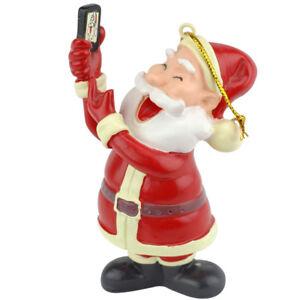 Tree-Buddees-Selfie-Santa-Claus-Christmas-Ornament-Funny-Ornaments-Cell-Phone