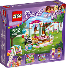 LEGO Friends - 66537 3in1 Superpack Geburtstagsparty m. Andrea (41110) - Neu OVP