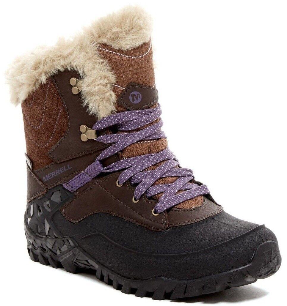 Merrell Fluorecein Shell 8 Women's Winter Snow Ankle Boots EU 40.5, US 9.5, UK 7