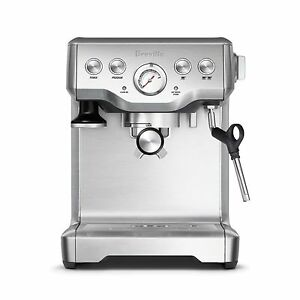 Breville-BES840XL-The-Infuser-Espresso-Stainless-Steel-Coffee-Maker-Machine-NEW