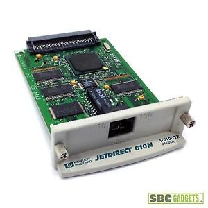JETDIRECT 610N DRIVER FOR WINDOWS 7