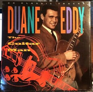 SEALED-Duane-Eddy-LP-20-Classic-Tracks-Performance-PFP-1000-1988
