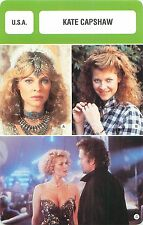 Kate Capshaw USA  ACTRESS ACTRICE FICHE CINEMA