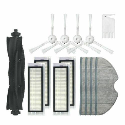 For 360 S5 S7 Robot Vacuum Cleaner Main Roller Brush Side Brush HEPA Filter Kit