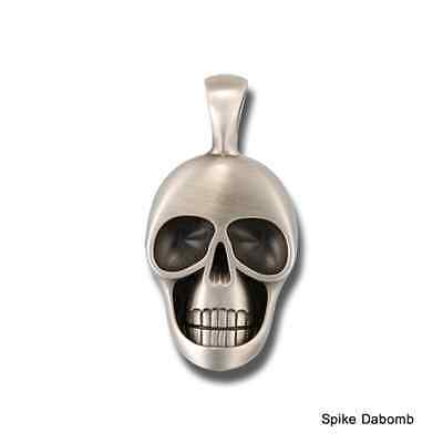 BICO AUSTRALIA 'MORTY' SKULL (NOT AFRAID) PENDANT E254. FOR NECKLACE/ CHAIN