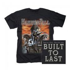 HAMMERFALL - Built To Last - T-Shirt - Größe Size M - Neu