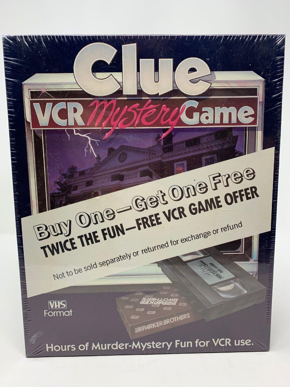 Contenido de Sellado Completo pista VCR Juego De Misterio Vhs Parker Brojohers 1985 Vintage