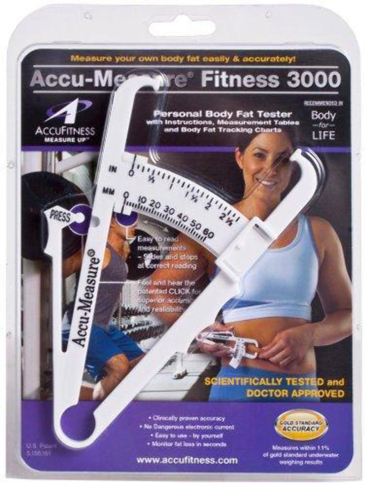ACCU-medida Fitness 3000 personal grasa grasa grasa corporal Calibrador Herramienta de medición 0b4775
