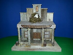 Long Branch And Saloon Decorative Inside Bird House Ebay