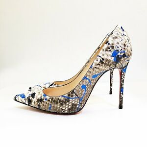 b67e8d797c92 Image is loading RARE-LIMITED-EDITION-Christian-Louboutin -Decollate-100-Python-