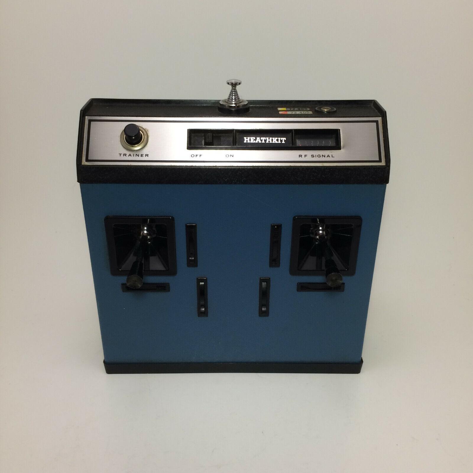 Vintage Radio Control Transmisor de control remoto Heathkit GDA-405-A (para Repuestos)