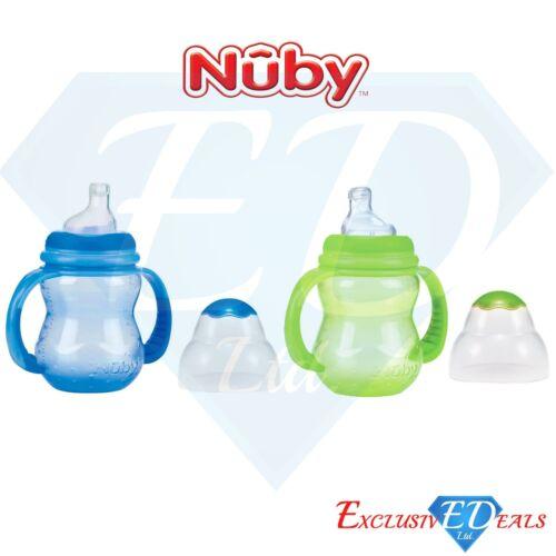 Months Babies Bottles Anti-Colic Handled Starter CupsNEW Set of 2 Nuby 6