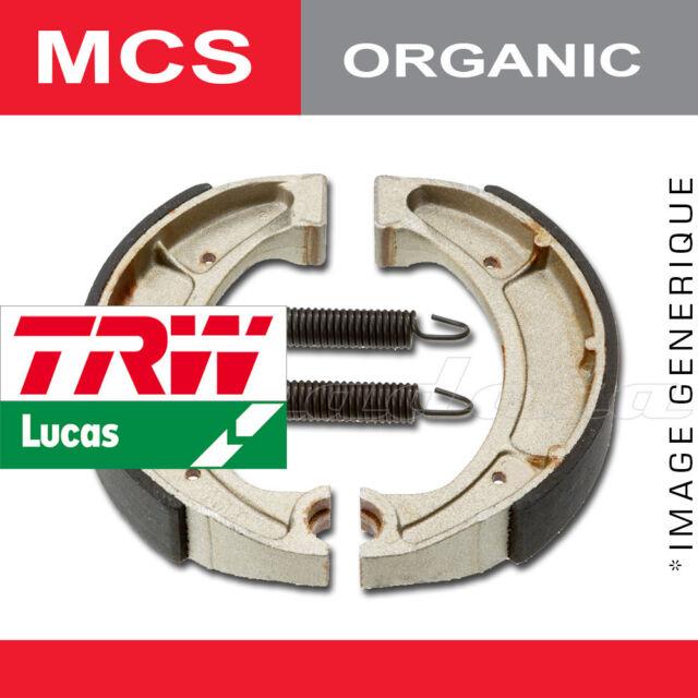 Mâchoires de frein Arrière TRW Lucas MCS 901 pour Suzuki TS 100 ER 82-