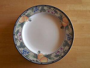 Mikasa Intaglio Garden Harvest Cac29 Set Of 6 Salad Plates Fruit Orange A Ebay