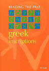 Greek Inscriptions by B.F. Cook (Paperback, 1987)