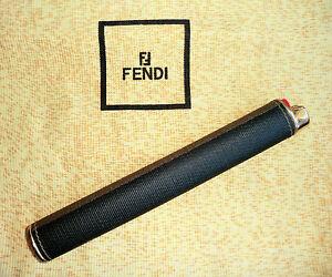Porta-accendino-fermacarte-FENDI-lighter-case-paperweight-cigar-box-dorato-gold