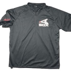 Chicago-White-Sox-Men-039-s-Black-Batter-Logo-SGA-Giveaway-Jersey-Robert