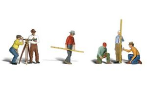 Painted O Scale Surveyors (o Figures) Woodland Scenics A2741 - Free Post P3