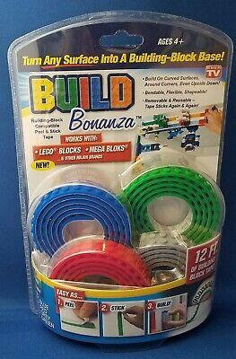 LEGO Bendable Flexible Shapeable  Removable /& Reusable Tape Sticks 4 color 12 Ft
