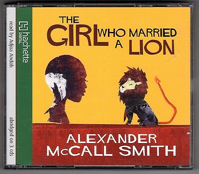 2019 Nieuwe Stijl The Girl Who Married A Lion By Alexander Mccall Smith (cd-audio, 2006) 3 Disks Firm In Structuur