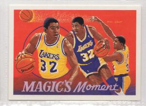 nba UPPER DECK 1992 # 106 Earvin Magic Johnson BASKETBALL CARD