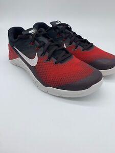 16443caa5510a Nike Metcon 4 Men s Training Shoes AH7453 002 Black Dark Red Vast ...