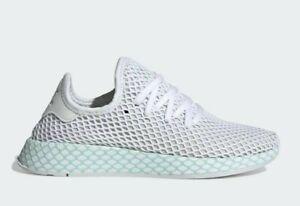 zu CG6089 Weiß NMD adidas Originals NEU Turnschuh PK Details White Runner Deerupt Schuh 5L4RqA3cj