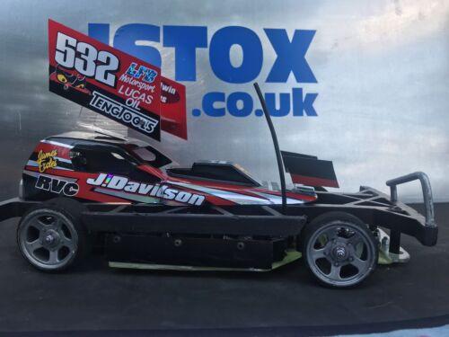 ISTOX 1//12 Stock Car /'SMITH Motorsport/' Style Wing Unpainted Lexan F1 F2 Mardave