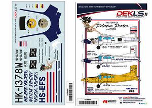1-48-Decals-History-of-Pilatus-Porter-039-2026-039-DEKL-039-s-II