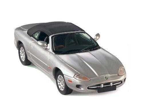 Jaguar XK8 Cabrio Top-Up  plata  (Vitesse 1 43   25100)