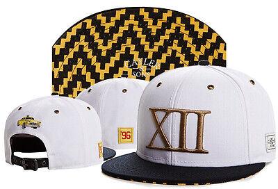 New Hip Hop Men's CAYLER Sons Cap adjustable Baseball Snapback White hat 102#