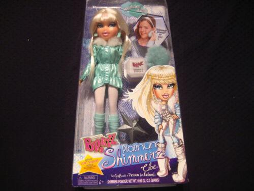 CLOE Bratz Platinum Shimmerz Doll with Shimmer Powder #T7