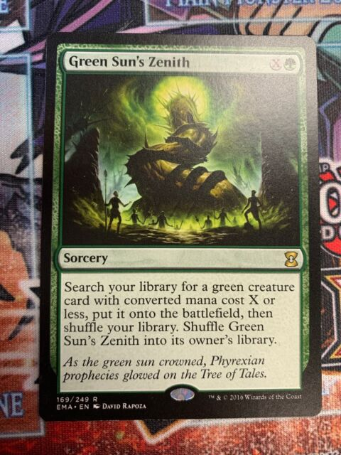 Excellent+ Blue Sun/'s Zenith ~ Mirrodin Besieged Magic MTG