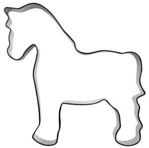 Ausstecher-Ausstechform-Pferd-10-cm-Edelstahl