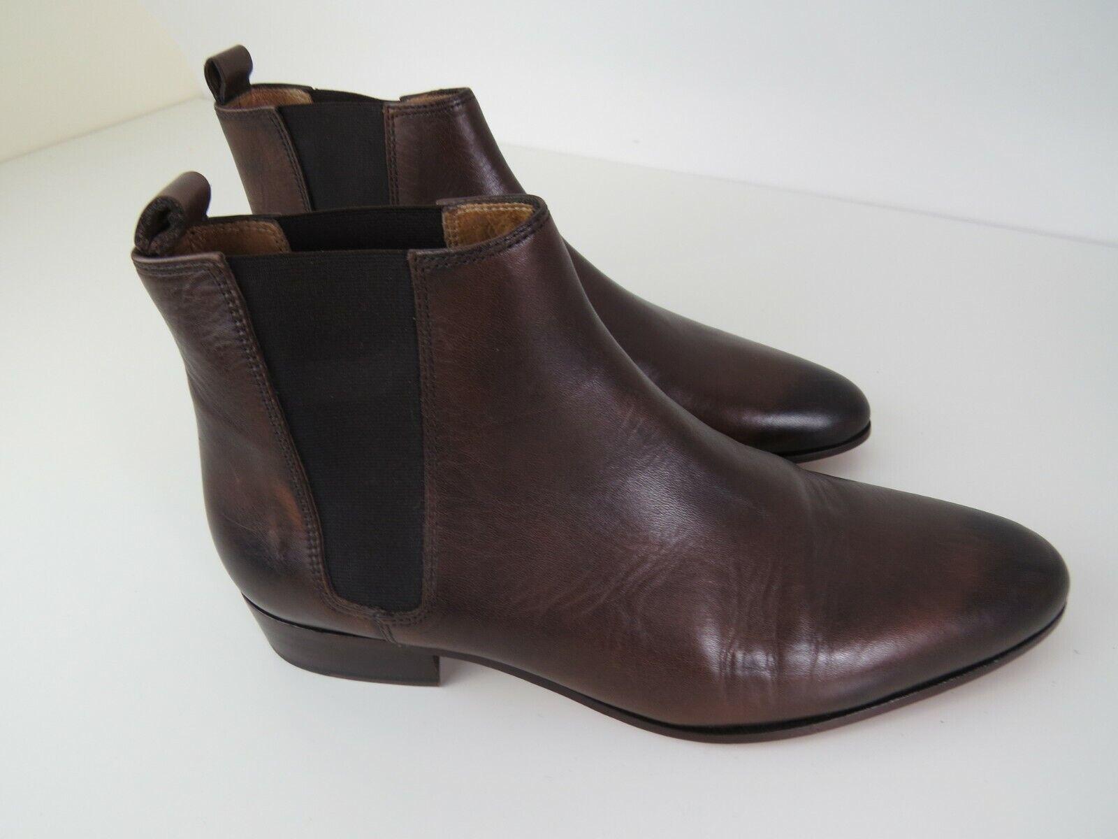 New The Kooples Mens braun Leather  Stiefel Größe EU42