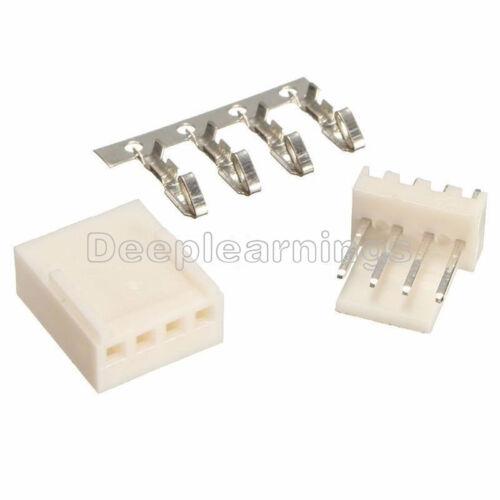 10PCS KF2510-4P 2.54mm Pin Header+Terminal+Housing Connector Kits NEW
