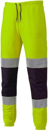 Dickies Two Tone Hi-Viz Vis Joggers SA2008 Jogging Bottoms Safety Trousers