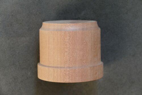 Base de modelos de madera caoba sólidos trofeo Pedestal
