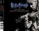BUSTA Rhymes What's It Gonna Be CD German Elektra 1999 3 Track Soul Society