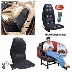 new portable heat massager chair cushion vibrating seat pad car mat back massage ebay. Black Bedroom Furniture Sets. Home Design Ideas