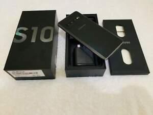 Good as New! Samsung Galaxy S10 128GB Dual Sim Black - Factory Unlocked