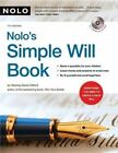 Nolo's Simple Will Book by Denis Clifford (2007, CD-ROM / Paperback, Revised)