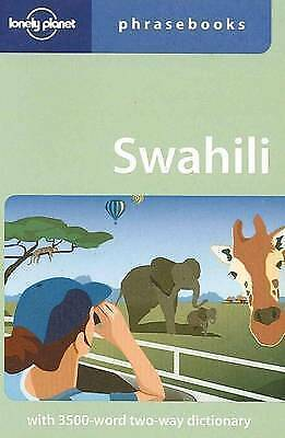 1 of 1 - Swahili (Lonely Planet Phrasebook), Good Condition Book, Martin Benjamin, ISBN 9