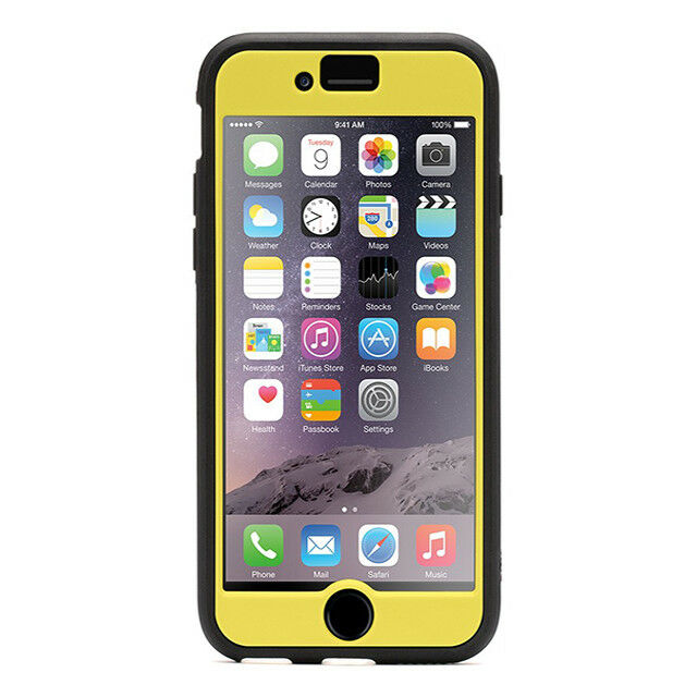 Griffin Identity Ultra Slim Protection Case iPhone 6 Plus/6 S plus Yellow Black